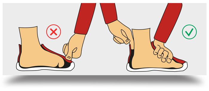 connaitre sa pointure de chaussure