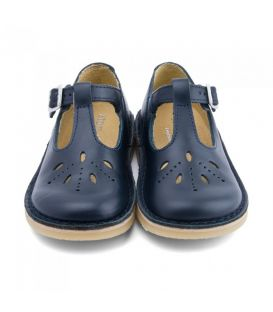 Start Rite Lottie III - Leather Buckle Fastening Shoes