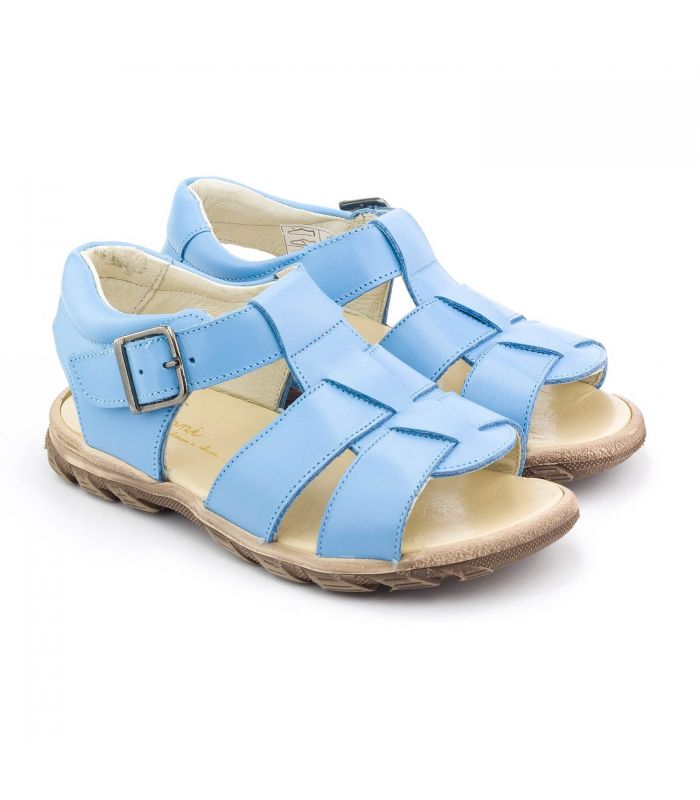baby steps sandals boni baby blue