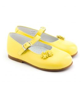 Boni Bouton d'Or - First step girls baby shoes