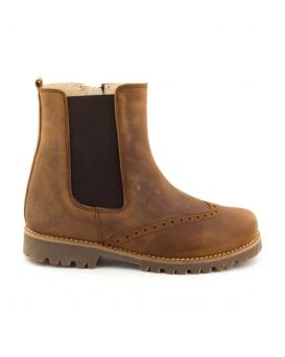 Boni Sam - Leather Boys Zip-up Boots