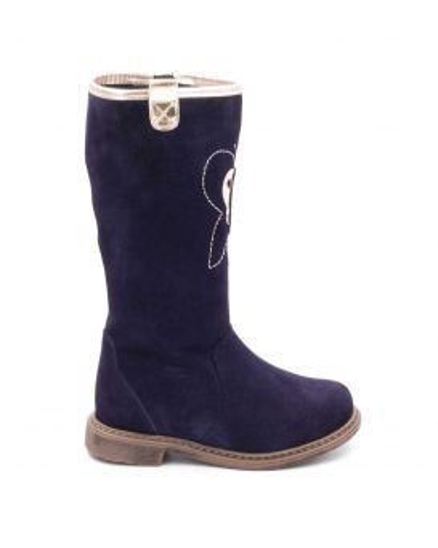 Girls Nubuck Leather Boots - Boni Aponi