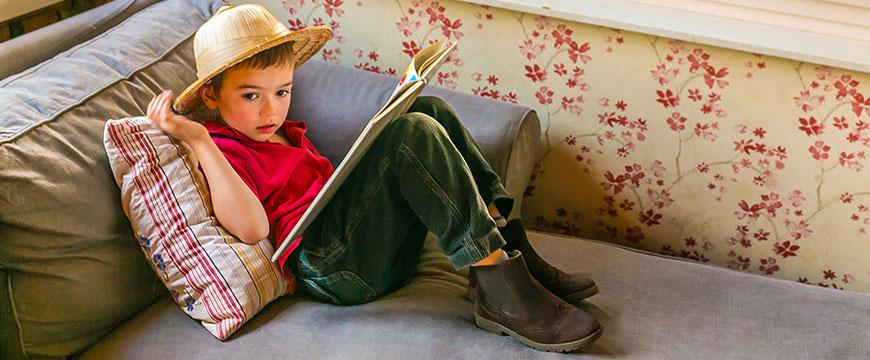 Jolies boots garçon de la marque Boni & Sidonie.